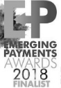 Emerging Payments Awards finalist logo