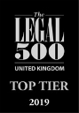 Legal 500 top tier logo