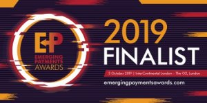 Emergign Payments Awards 2019 finalist