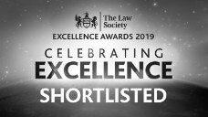 Law Society Excellence Awards shortlisted
